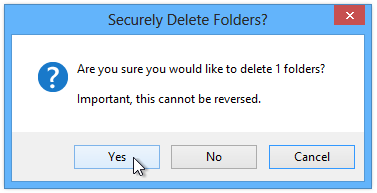 Securely-Delete-Folders