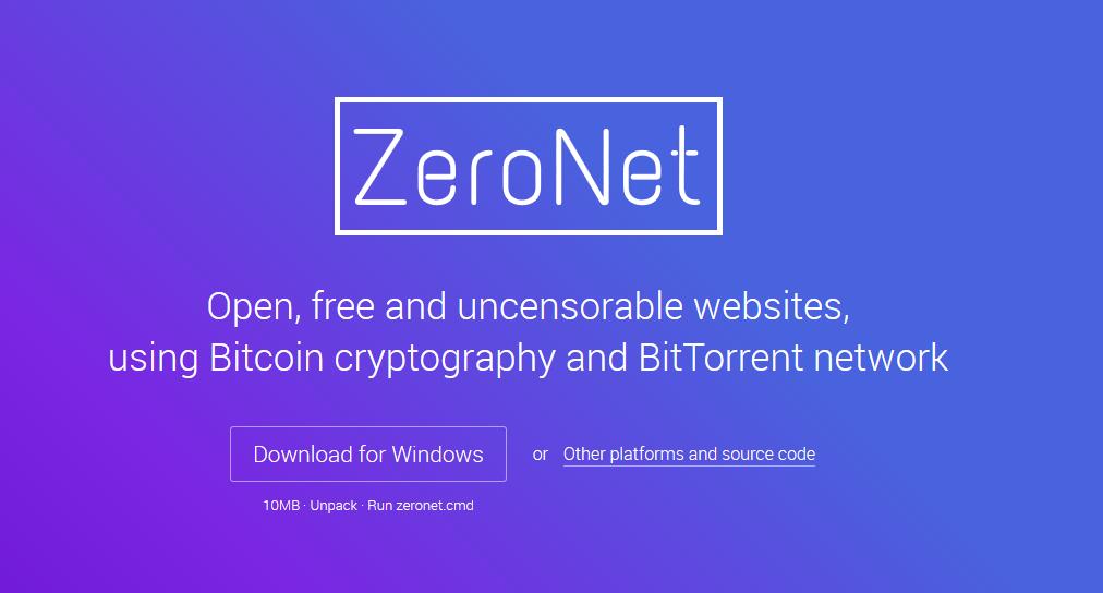 ZeroNet: Webs descentralizadas utilizando la criptografía de bitcoin y la red de Bit Torrent