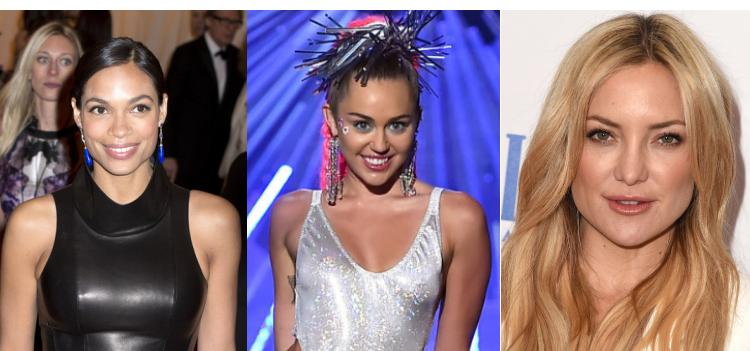 Imagenes hackeadas de Rosario Dawson, Miley Cyrus y Kate Hudson han sido filtradas