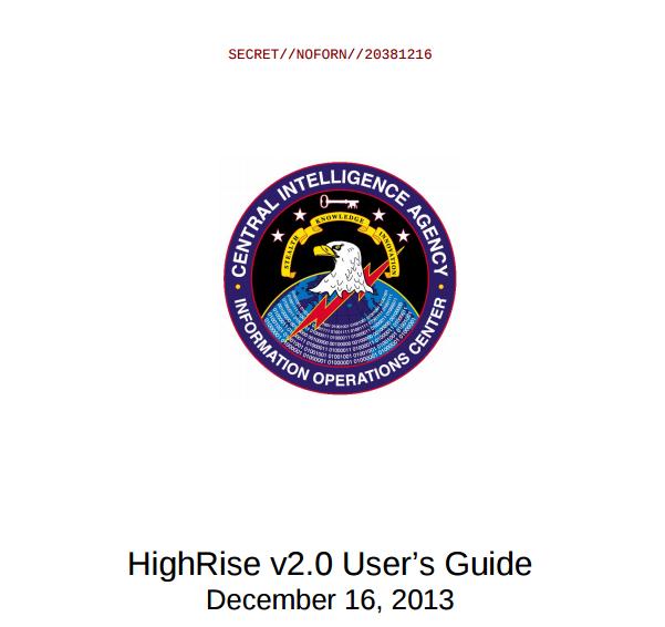 Highrise : Malware para android filtrado por wikileaks utilizado por la CIA para interceptar y redirigir SMS