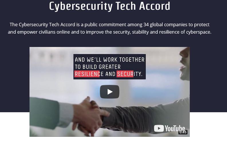 34 empresas tecnológicas firman un acuerdo para no ayudar a las operaciones de hackeo del gobierno