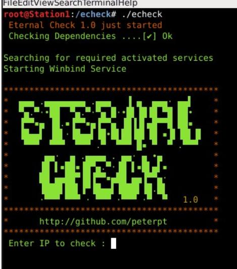 Eternal Check -comprueba si eres vulnerable a Eternal Blue, Romance, Synergy & Champion