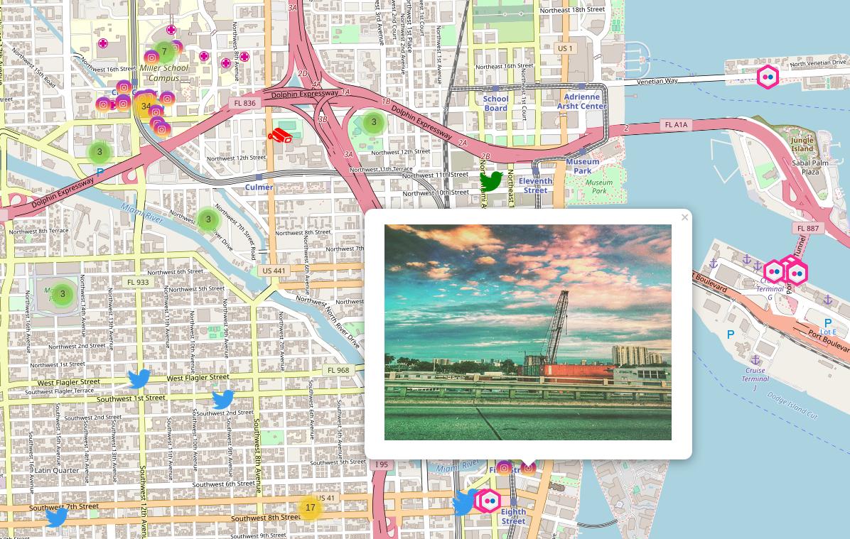 Kamerka 2.0- Construye un mapa interactivo de Flickr, Instagram, Shodan y Twitter