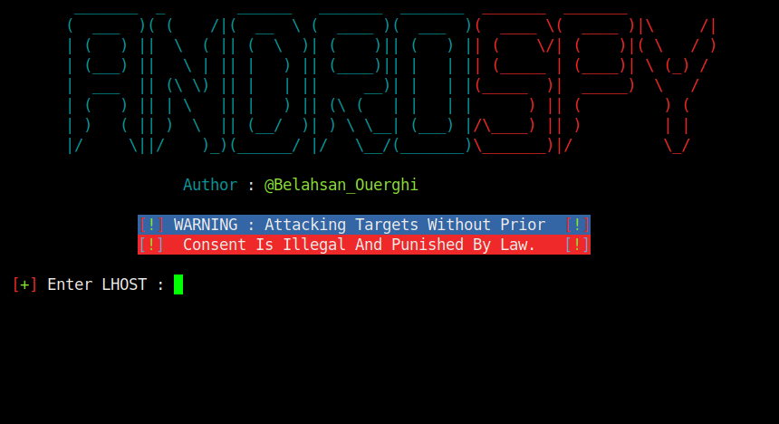 Androspy: backdoor con crypter y IP Poisener