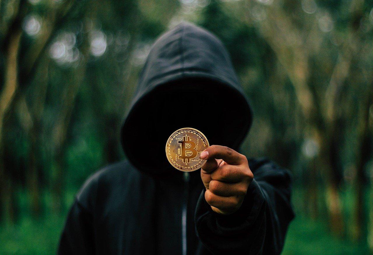 Bitcoin Coin Hoodie Mysterious Man  - Tumisu / Pixabay