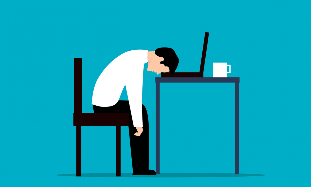 Employee Desk Stress Exhausted  - mohamed_hassan / Pixabay